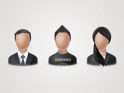 User icons user icon avatar men woman
