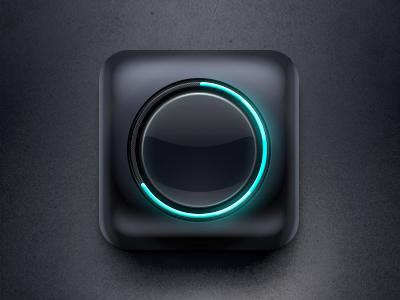 Mobile Balance Icon ios icon mobile glow iphone