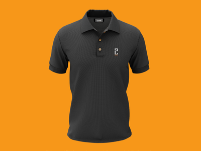 Polo T-Shirt - ZIFFAY apparel t shirt logo flat design identity branding minimal branding logo design brand design