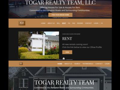 TOGAR Realty Website Design