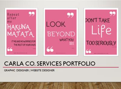 Portfolio Home Page Preview