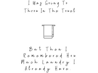 Laundry Printable design quotes graphic designer