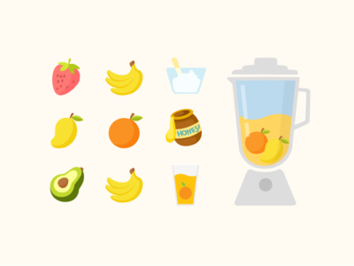 Fruits for smoothie