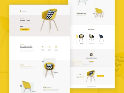 Product Landing Page - Instapage Template