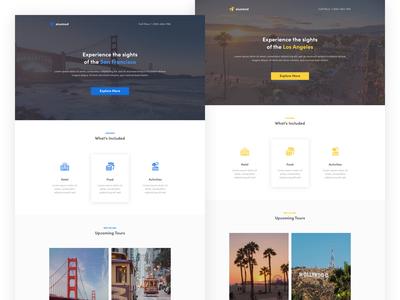 Travel Landing Page - Personalization