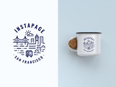 San Francisco Coffee Mug Design