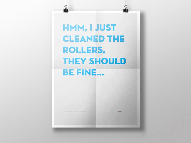 Printerseries rollers