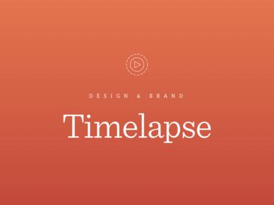Design & Brand Buildout —Timelapse Footage typography animated logo reno kps3 hero brand design timelapse video