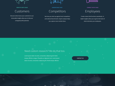Homepage - Concept  illustration icons space purple data website homepage