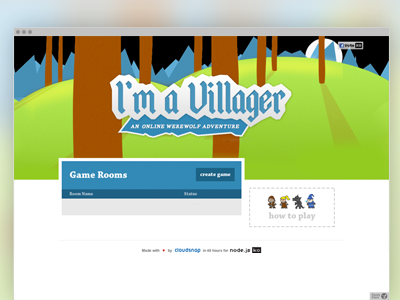 I'm a Villager Launched