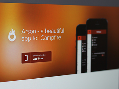 Arson - Campfire Chat for iOS arson campfire cloudsnap ios kevin jones reno chat fire orange red apple