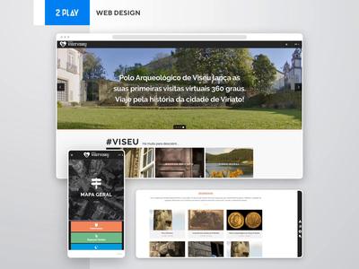 VisitViseu - Web Design