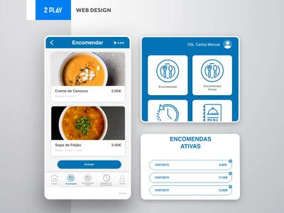 NovoBanco Refeitórios - Web Design