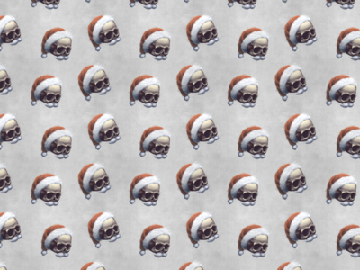 Christmas Halloween Pattern