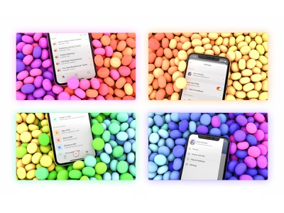 Pride Month Rainbow Complete! colorful creative candy jelly bean app design celebration gradient toggle switch pride 2020 promotion cinema4d rendering mobile pride month powerpoint word microsoft office microsoft office app
