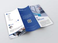 Tri-fold Brochure Mockup(Freebie)