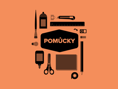 Icons icons brush glue pencil tape ipod ruler tools rubber cutter spray scissors workflow illustration school project bulb