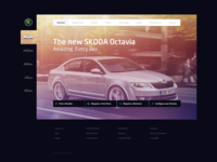 SKODA redesign - product page
