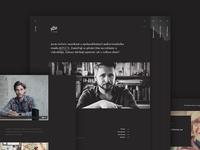 Adam Vopicka website