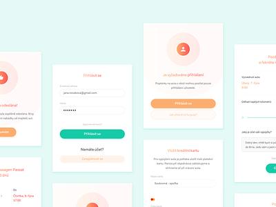 HappyGo – Dialogs, Pop Ups, Alerts car sharing design website ui ux modal alert pop up dialog window
