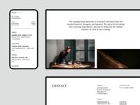 La Degustation Bohême Bourgeoise restaurant ambiente webdesign homepage ui web ux design website
