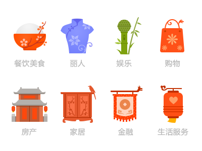 The new year of Chinese Icon