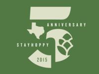 Stay Hoppy 5 Year Anniversary