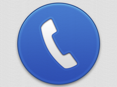 Big phone button