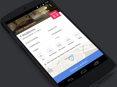 Housing.com Android app Details WIP