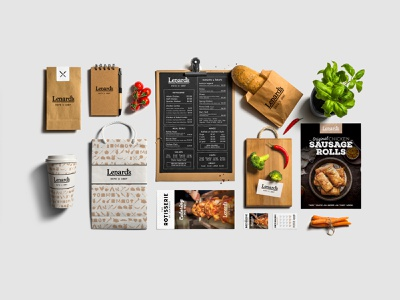 Brand presentation for new concept store. rustic barnstyle food mockup pitch retail design food retail branding design custom design branding logo graphic design