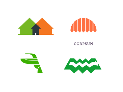 Some old logos for various projects. illustration vector icon logotype logo graphic design