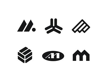 Logos for eco project in black. branding vector logotype icon graphic design logo
