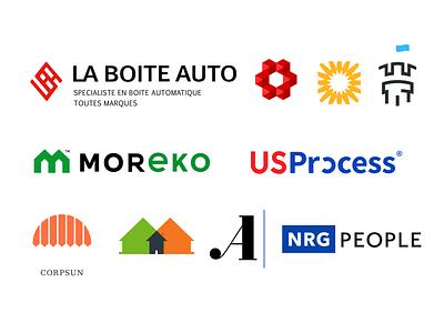 Some logos 2018-2020. design vector logotype graphic logo