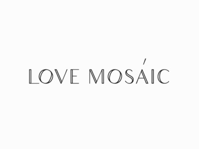 Logo redesign for a Love Mosaic Workshop (Consept).