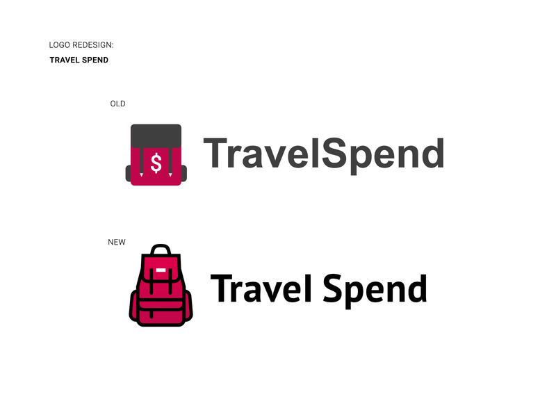 Travel Spend Logo Redesign. icon design logo design redesign travel app app icon logo