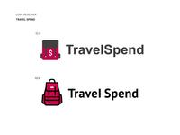 Travel Spend Logo Redesign.