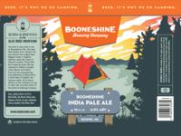 Booneshine Beer Can Label