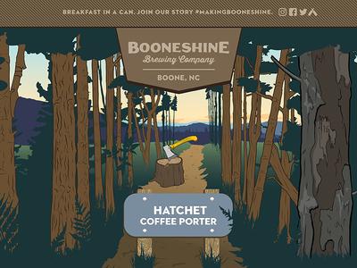 Booneshine Hatchet Coffee Porter Beer