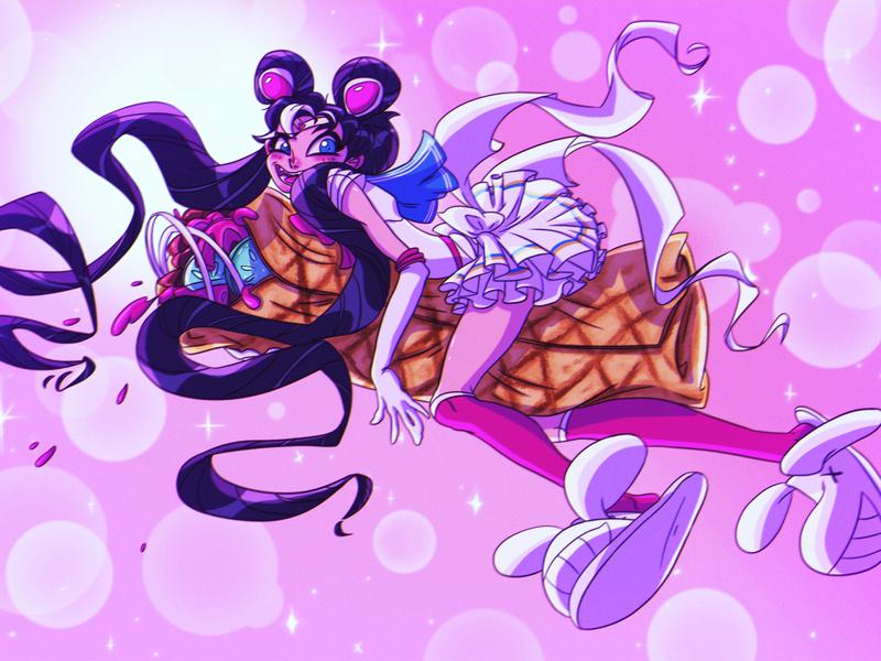 Sailor Moon illustration design animation photoshop illustrations character design animation design