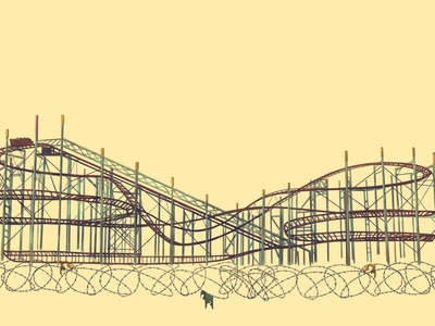 amusement park paint art artwork artist design animation animation design illustration illustrations photoshop