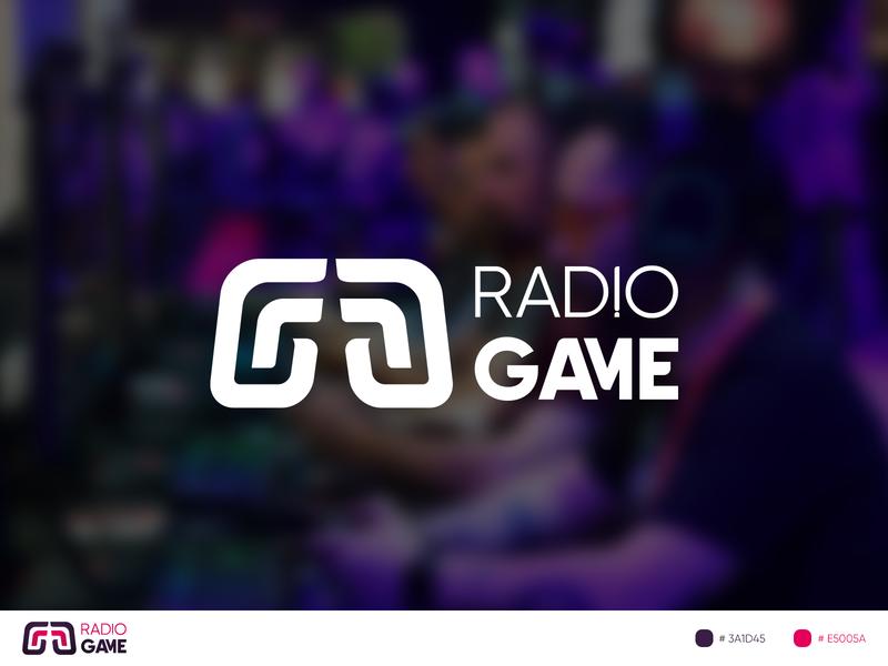 Radio Game Logo game design logo