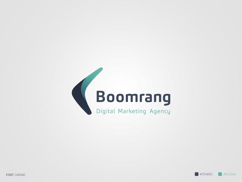 Boomrang Logo design logo branding