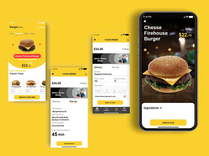 Burgerhouse-MobileApp