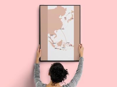 Southeast map