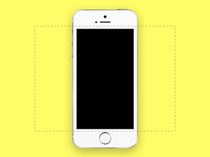 iPhone 5S for Dribbble .Sketch iphone sketch download freebie resource iphone 5s sketch app