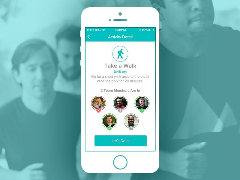 TeamFit ui 352 fitness iphone app 352 inc iphone app