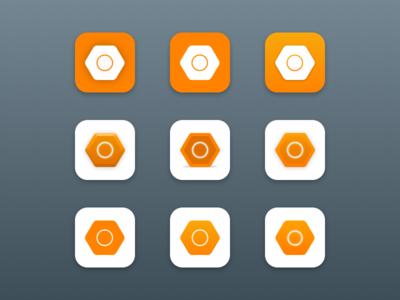 Luma iOS App Icon Exploration