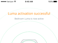Luma activated