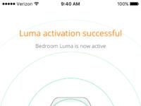Luma activated