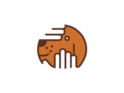 Mr Sproket morecolor kamil sadlo logo branding dog salon dogs beauty care hand